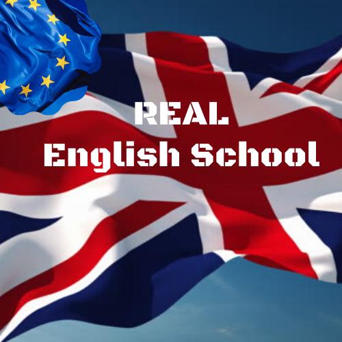 Real English School logo